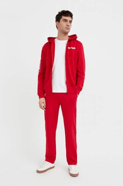 Спортивные брюки Finn Flare B21-22018, красный