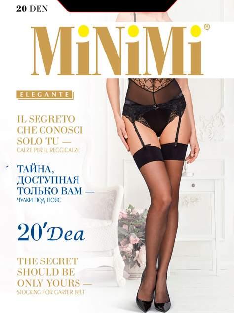 Чулки женские MiNiMi DEA 20 черные 3-4 (M/L)