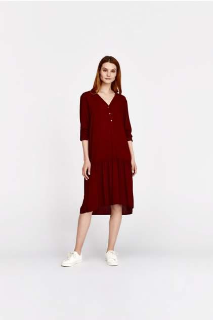 Платье женское Alina Assi 11-503-117-2_БОРДОВое красное XS