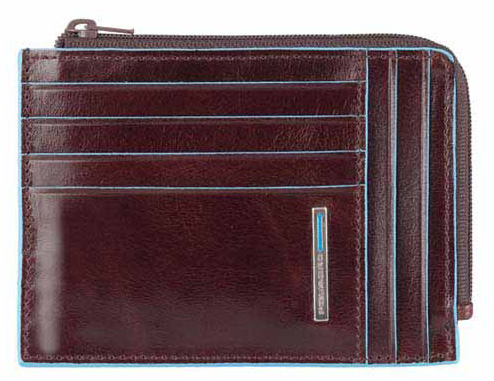 Чехол для кредитных карт Piquadro Blue Square PU1243B2R коричневый