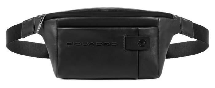 Сумка на пояс Piquadro Urban CA2174UB00 черная