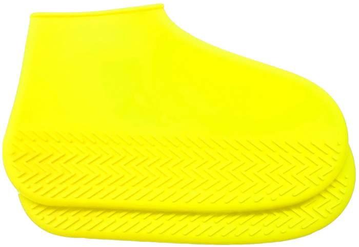 Силиконовые бахилы высокой плотности S (29-34), желтые