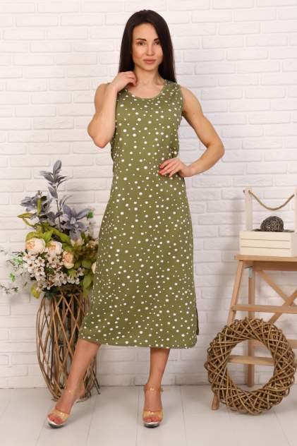 Женское платье Миллена Шарм 6962, хаки