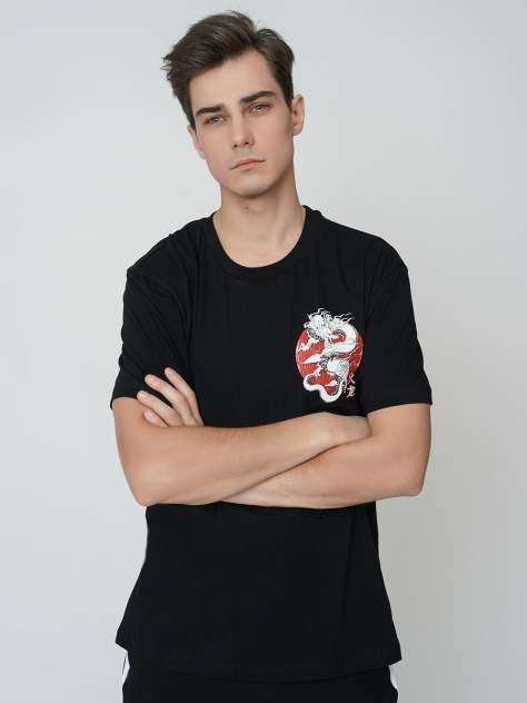 Футболка мужская ТВОЕ 68834 черная M