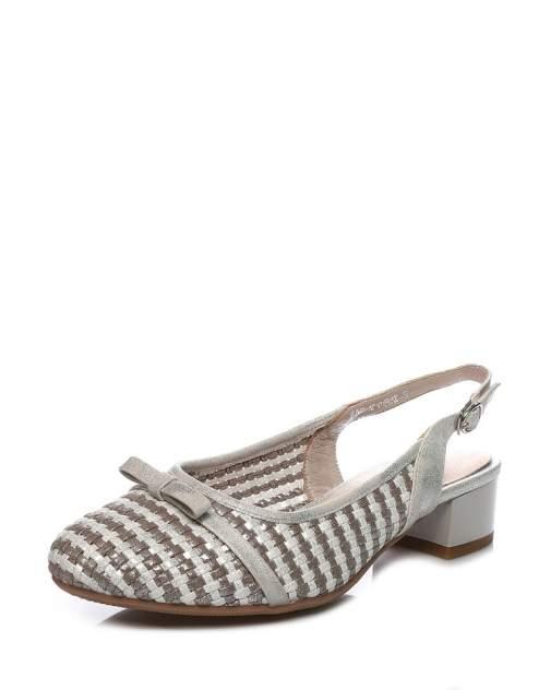 Туфли женские VIGOROUS 51VG-12-01E0KK, серебристый