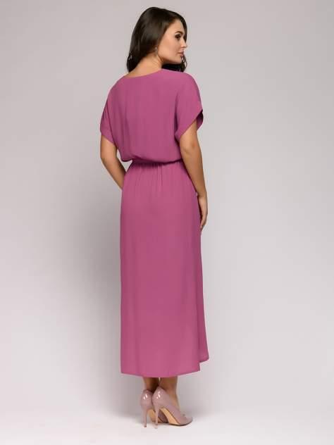 Повседневное платье женское 1001dress 0112001-01113WE бордовое 42