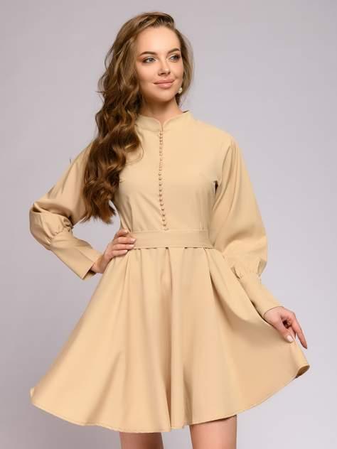 Женское платье 1001dress 0112001-30042BG, бежевый