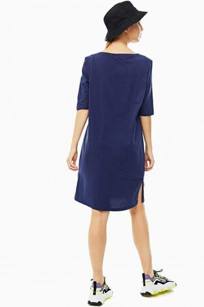 Домашнее платье женское Emporio Armani 164333 0P291 15434 синее S