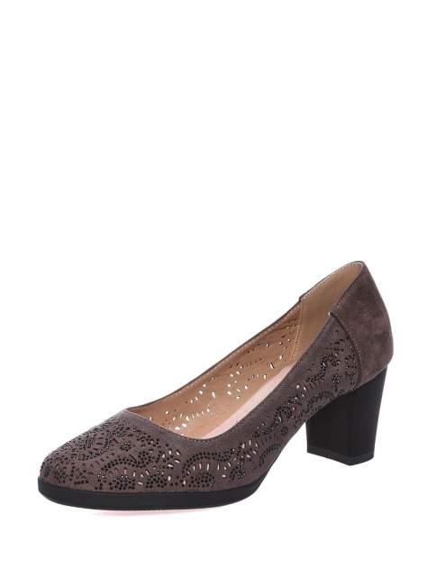 Туфли женские VIGOROUS 51VG-09-02F0D2, коричневый