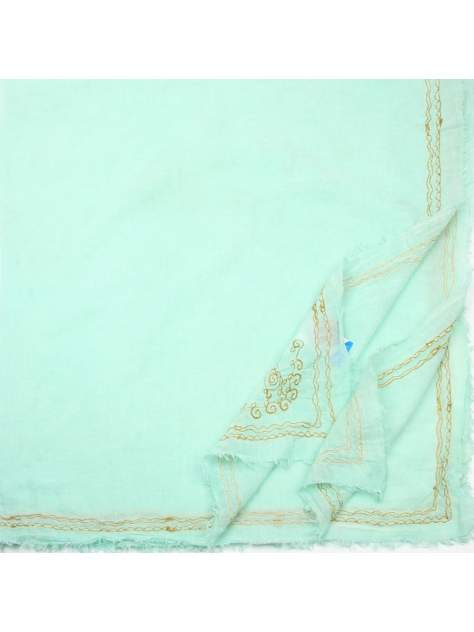 Платок женский Venera 6701741 мятный, 140х140 см