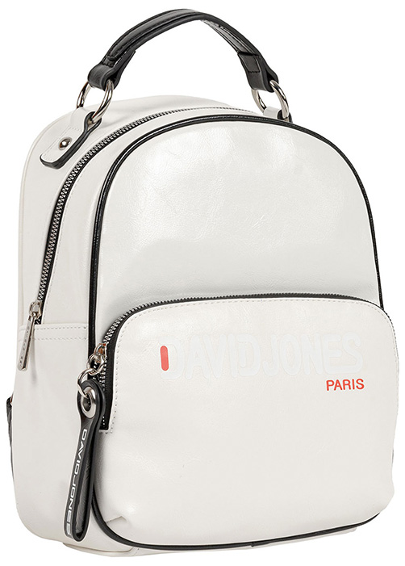 Рюкзак женский David Jones 6237-4 WHITE, белый