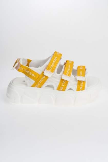 Женские сандалии Crosby 407044/01, желтый