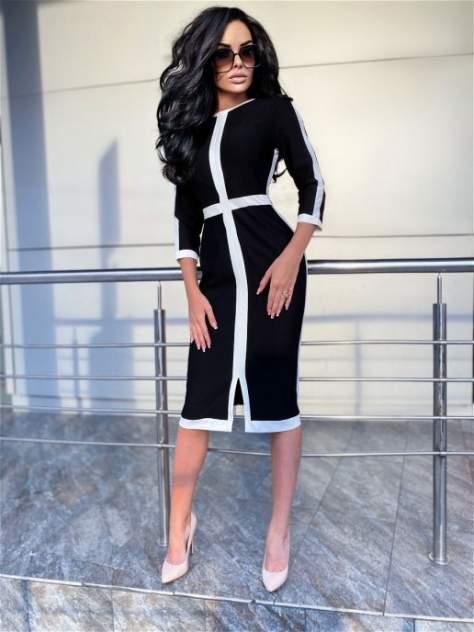 Женское платье DAZZLE STYLE Крест, черный