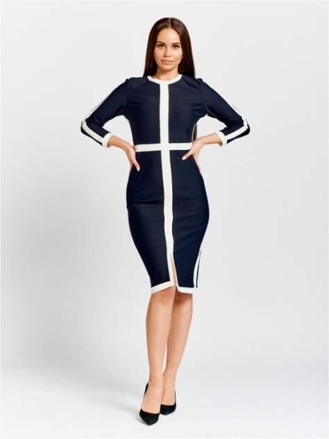 Женское платье DAZZLE STYLE Крест, синий