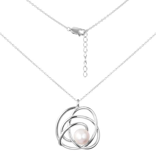 Колье женское Balex Jewellery 9458930004 из серебра, жемчуг, 42 см