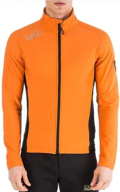 Толстовка мужская EA7 Felpa, оранжевый