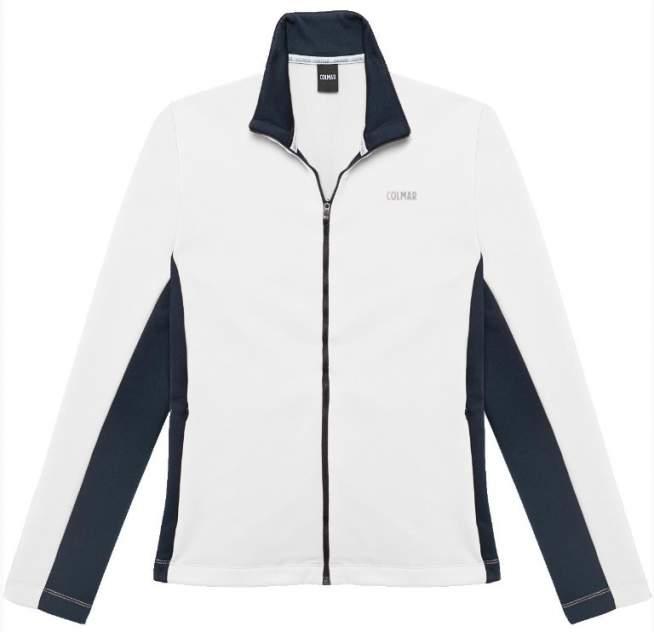 Толстовка Colmar Full Zip Fleece, white/blue/black, XL