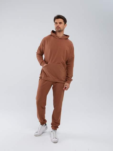 Nasara Спортивный костюм мужской с Худи / Костюм мужской с Худи и Брюками капучино 46-48