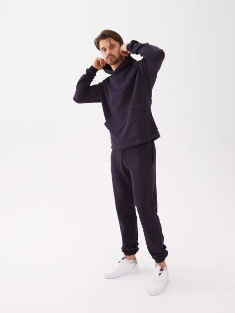 Nasara Спортивный костюм мужской с Худи и Брюками темно-синий 48-50