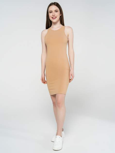 Платье-сарафан женское ТВОЕ 81302 бежевое XL