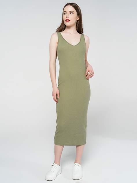 Платье-сарафан женское ТВОЕ 81299 хаки S