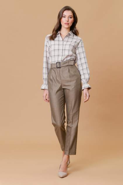 Рубашка женская Vittoria Vicci 1-20-2-2-04-6548-1 бежевая XL