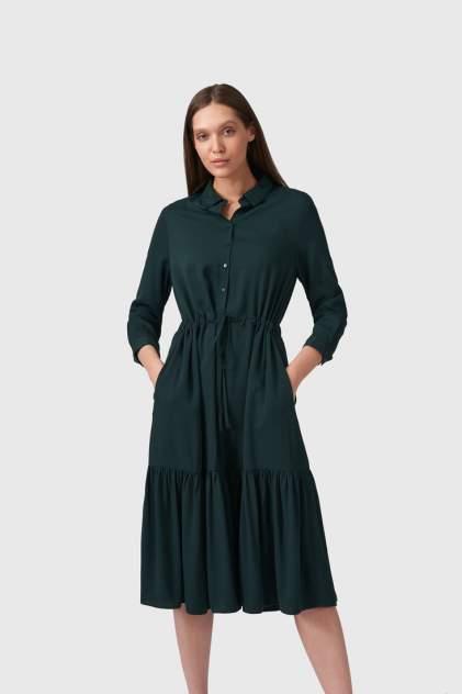 Повседневное платье женское Modis M211W00008T767F77 зеленое 44