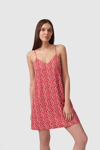 Домашнее платье женское Modis M211U00046O769F03 красное 42