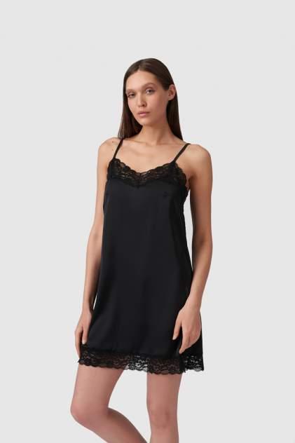 Домашнее платье женское Modis M211U00029S642F04 черные 44
