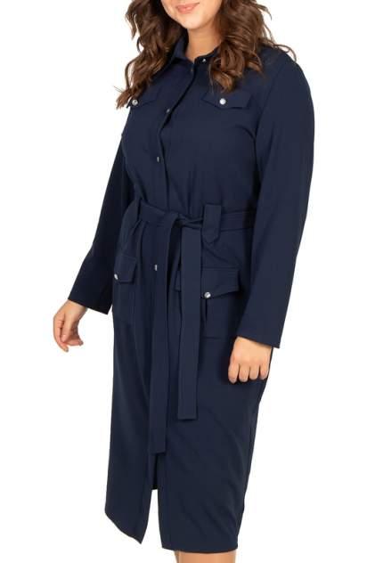 Платье женское BELUCHI Сафари синее 58 RU