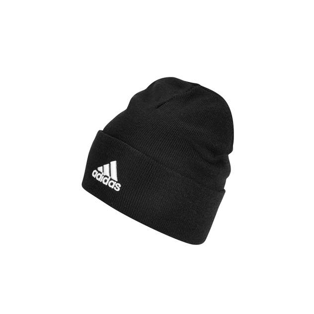 Шапка бини унисекс adidas Logo Woolie (FS9022) black/black/white