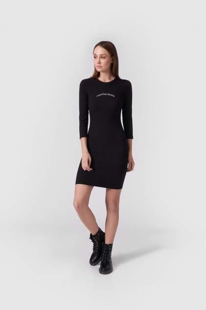 Повседневное платье женское Modis M211W00114S642F75 черное 46-48