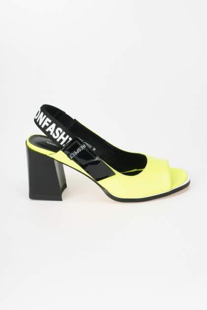Туфли женские Respect IS56-138970, желтый