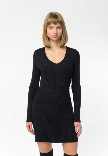 Повседневное платье женское Modis M202W00625S642F69 черное 42-44