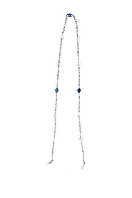 Цепочка женская Unique ЦОХ2042К голубая, 80 см