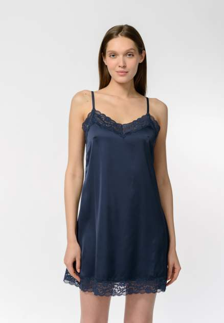 Ночная сорочка женская Modis M202U001071RIUF03 синяя 42