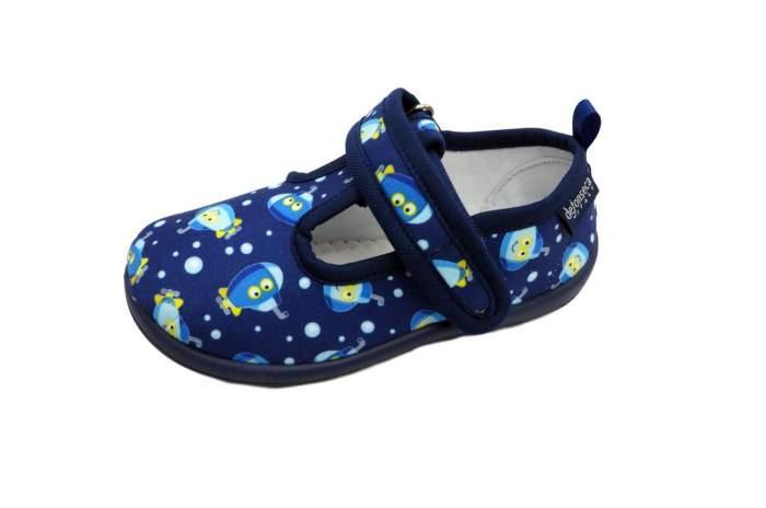 Тапочки детские de fonseca, цв.синий