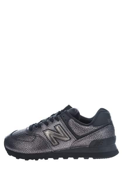 Кроссовки женские New Balance WL574SOH/B черные 9.5 US