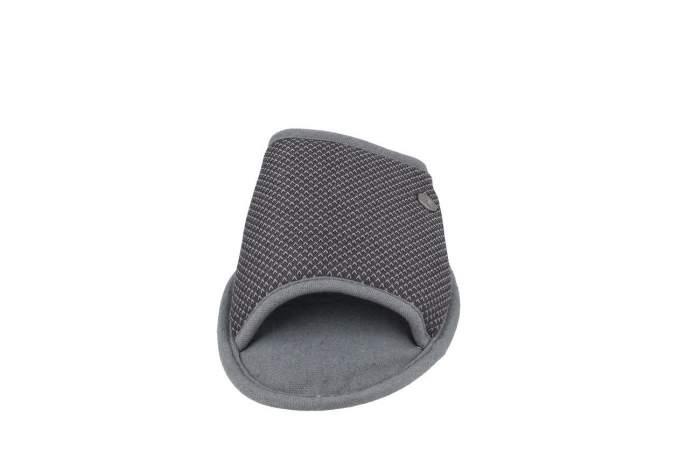 Домашние тапочки мужские de fonseca BARI TOP E PA M741RU серые 44-45 RU
