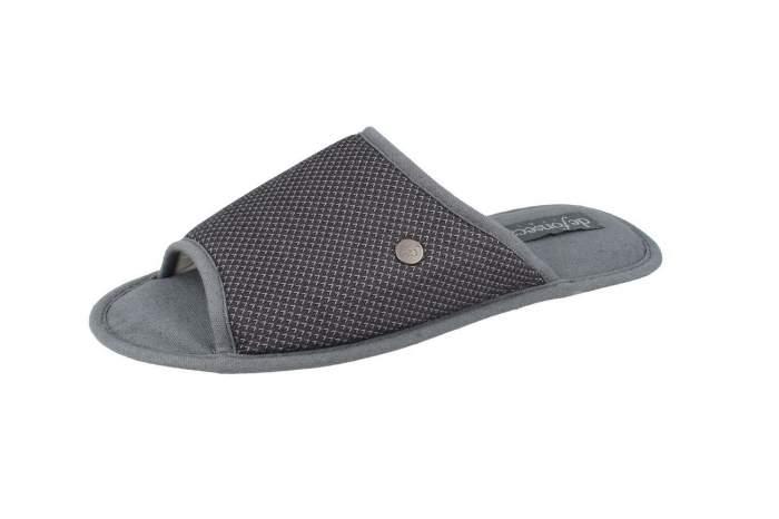 Мужские домашние тапочки de fonseca BARI TOP E PA M741RU, серый