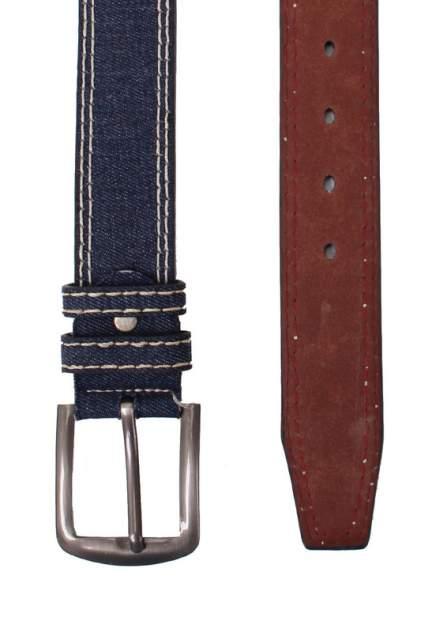 Ремень мужской Zemsa 58155 синий, 110-120 см