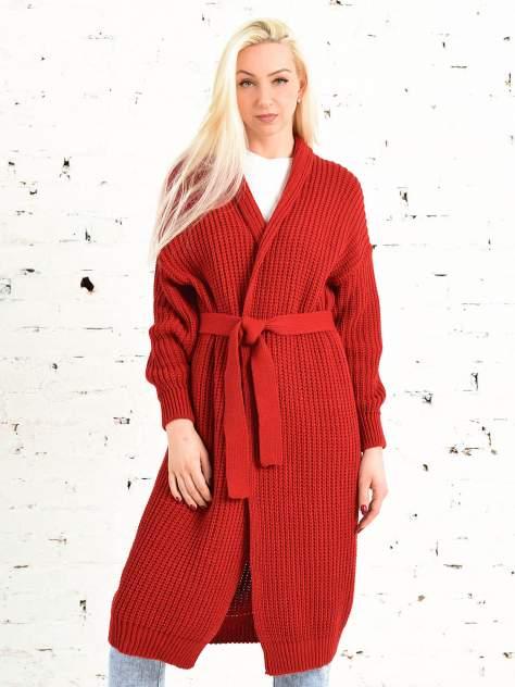 Кардиган женский MILANIKA 1202 красный 60