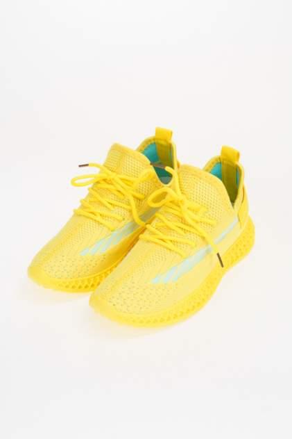 Кроссовки женские MEITESI LS56-3 желтые 40 RU