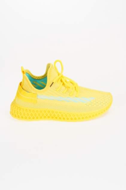 Кроссовки женские MEITESI LS56, желтый
