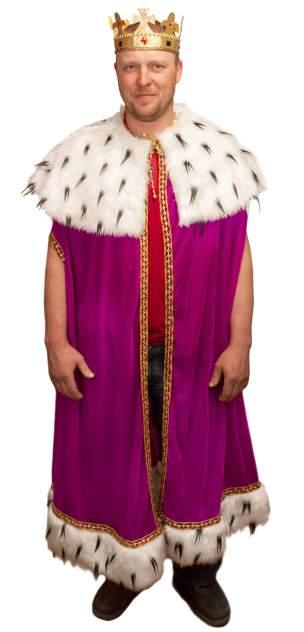 Карнавальный костюм Элит Классик, цв. фиолетовый