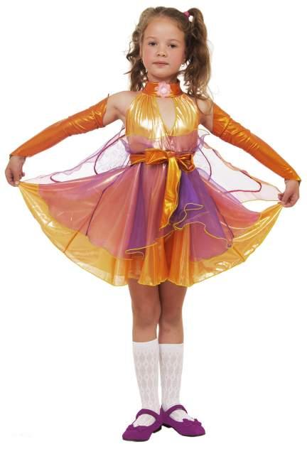 Карнавальный костюм Элит Классик, цв. оранжевый