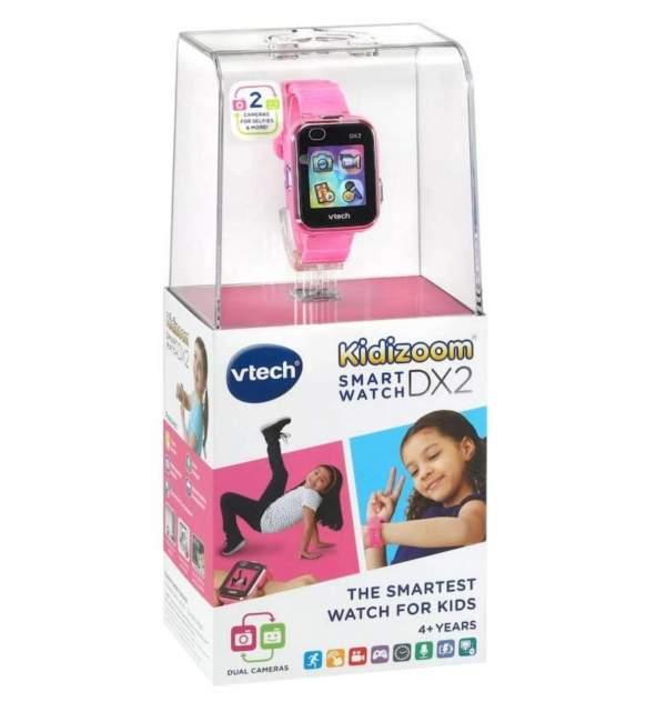 Детские наручные часы Kidizoom SmartWatch DX2 розовые VTech