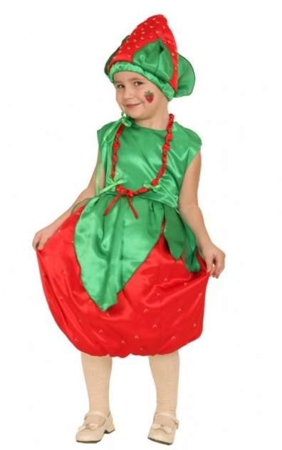 Карнавальный костюм Вестифика, цв. зеленый, красный