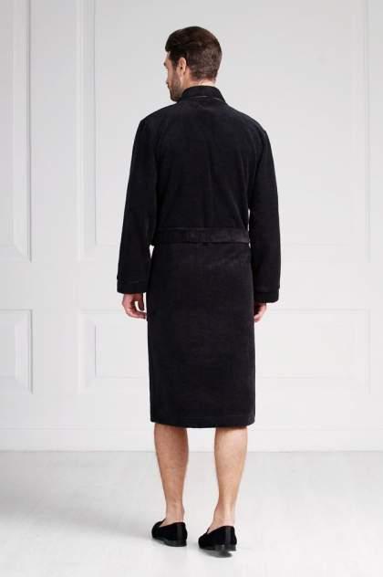 Домашний халат мужской Laete 11007-7 черный 3XL