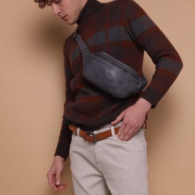 Поясная сумка мужская Dr.Koffer M402736-248 серая